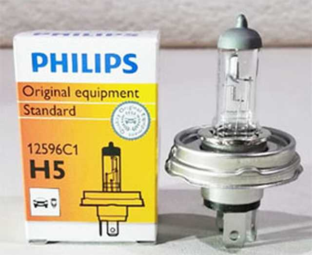 Lampara h5 phillips 12v 60-55w p45t germany (64198)