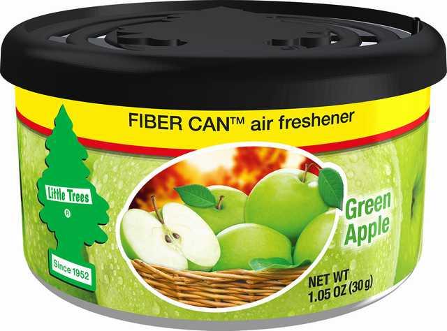 Lata fibra little trees green apple