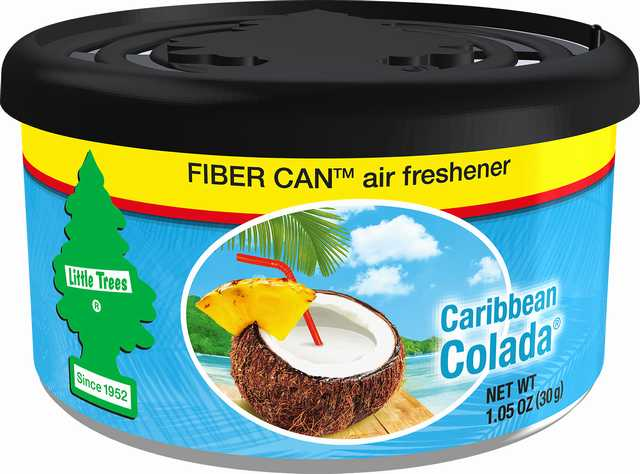 Lata fibra little trees caribean colada