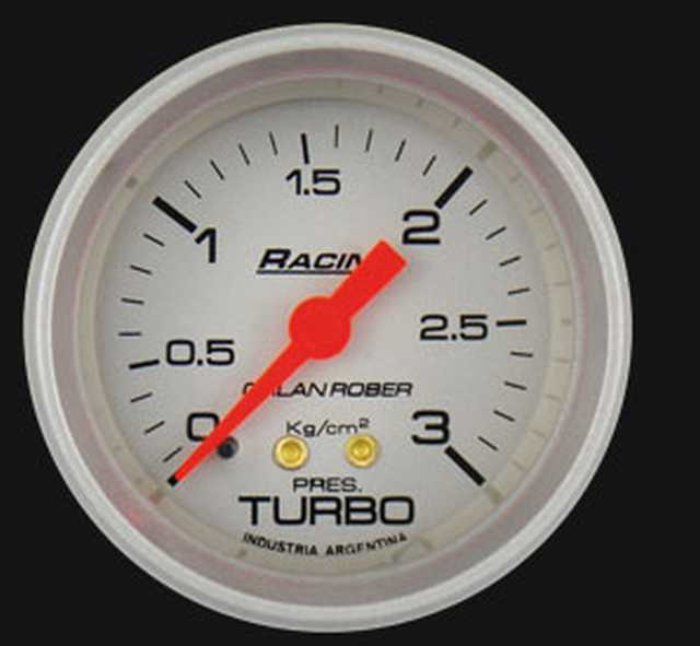 Presion turbo 3 kg plata orlan rober