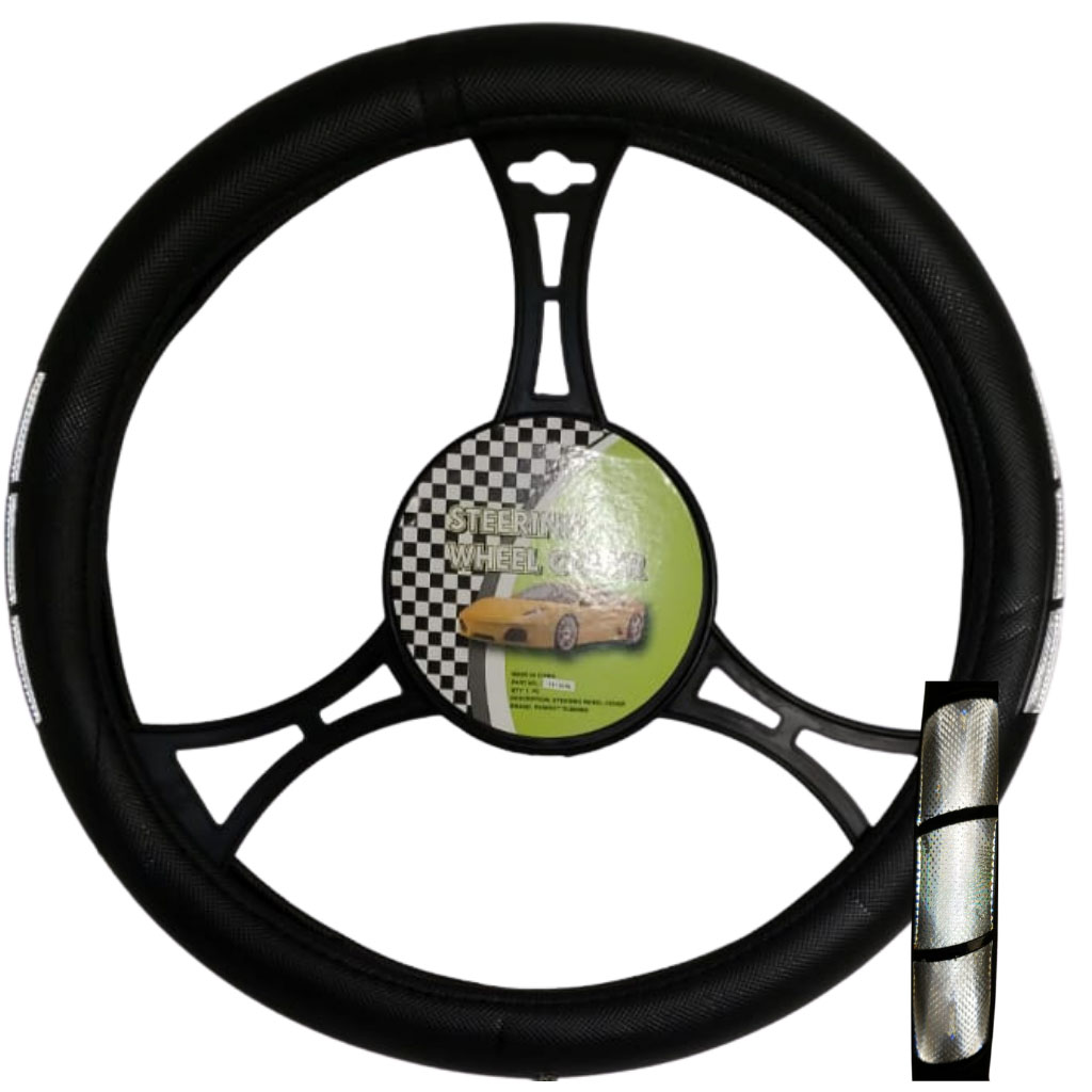 Cubre volante ac tribanda reflectivo gris gris gris