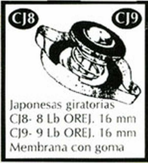 Tapa caja amarilla cj9