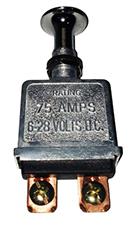 Llave un punto tirar reforzada metalica 75 amp
