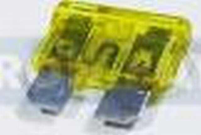 Fusible ron bay ficha 30 amp verde