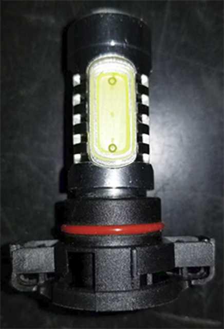 Lampara h16 cob con lupa 12v 7.5w