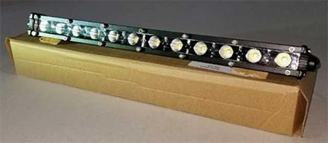 Barra 12 led 36w slim 32 cm