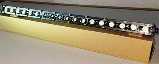 Barra 18 led 54w slim 47 cm