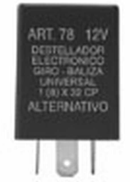 Destellador electronico 12v 3t alternativo
