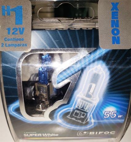 Lampara h1 12v 55w crystal bifoc x jgo.