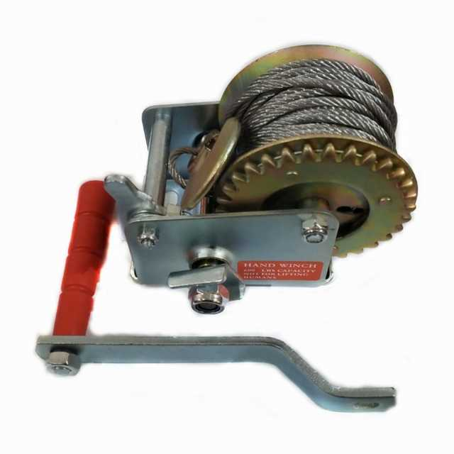 Malacate 400 kgs cable 42 mm x 10 mts 1 via 1 velocidad