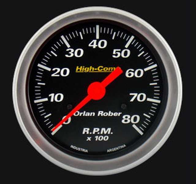 Tacometro 2-4c 8000 orlan rober