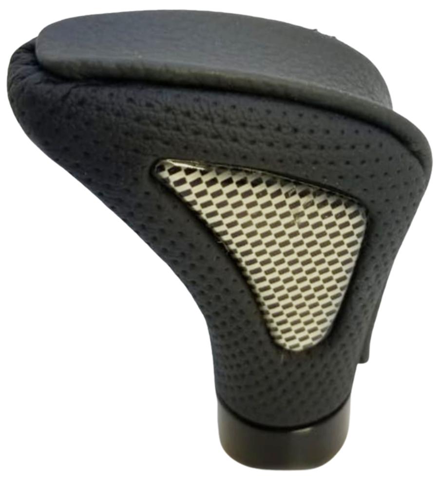 Pomo deportivo premium triangulo central gris