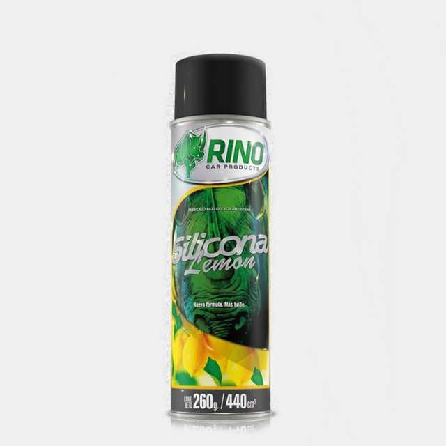 Silicona aerosol limon rino 440cc