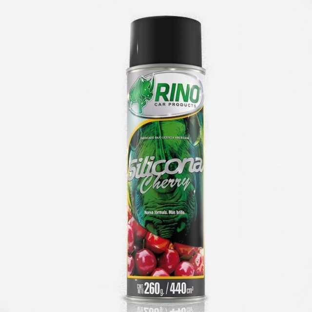 Silicona aerosol cherry rino 440cc
