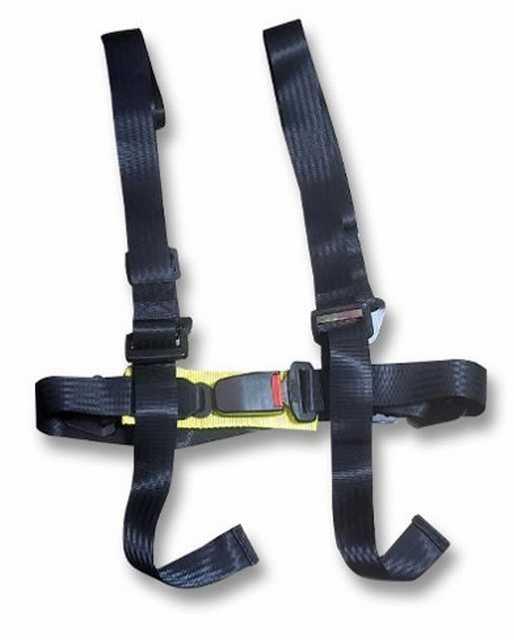 Cinturon de seguridad 4 puntas x unidad