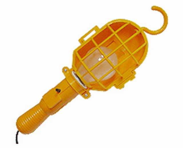 Portatil grande plastica para lampara e27 edison