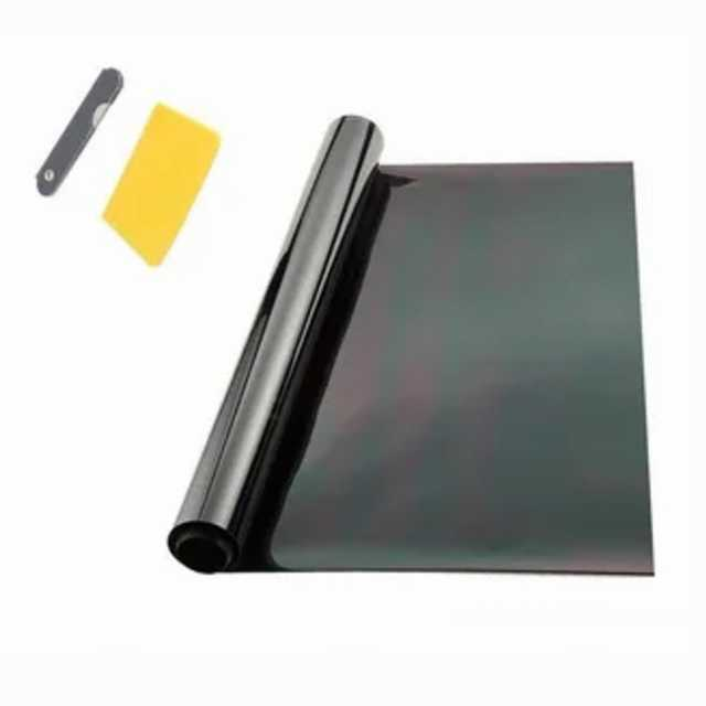 Lamina polarizar 5% super dark black 50 cm x 3 mts