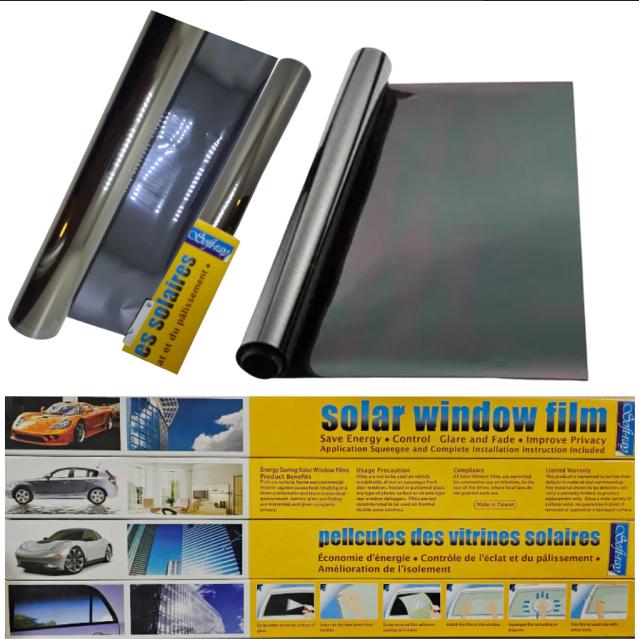 Lamina polarizar 15% dark black 50 cm x 3 mts