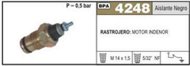 Bpa rastrojero motor indenor