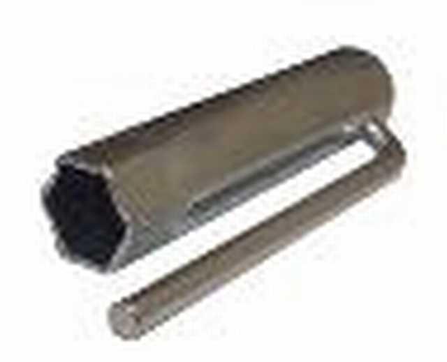 Llave saca bujia 21 mm x 24 cm. peugeot 504