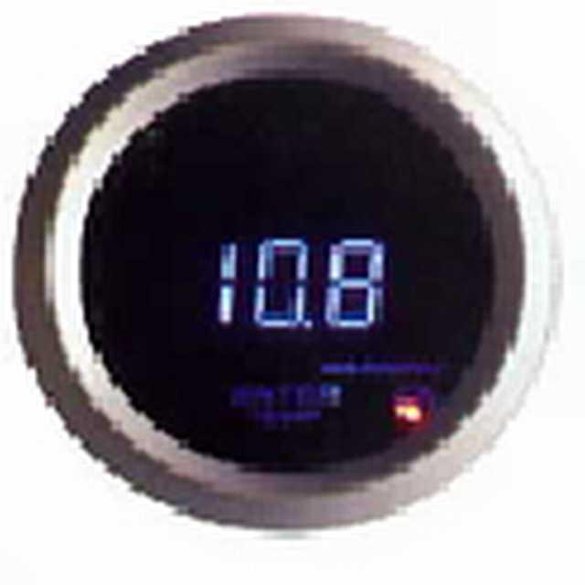 Manometro electrico 52mm digital led azul 6116bl gga171