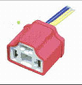 Ficha h4 3 vias ceramica cub-plastica cable 2,00 mm tr102a