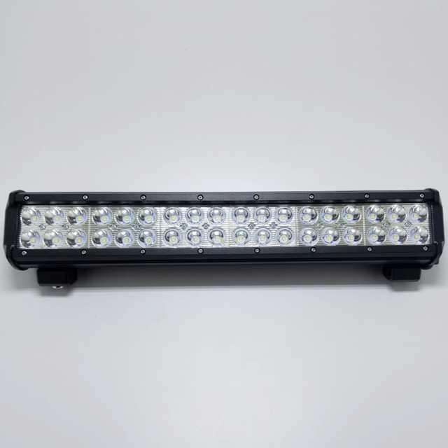 Barra 36 led 108w 10-30v 44 cm 6000k aluminio negro res(6)