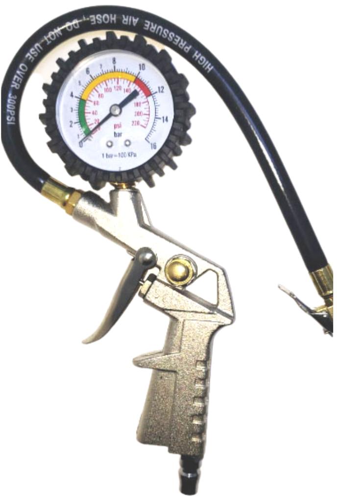 Medidores de presion profesional con manguera y pistola