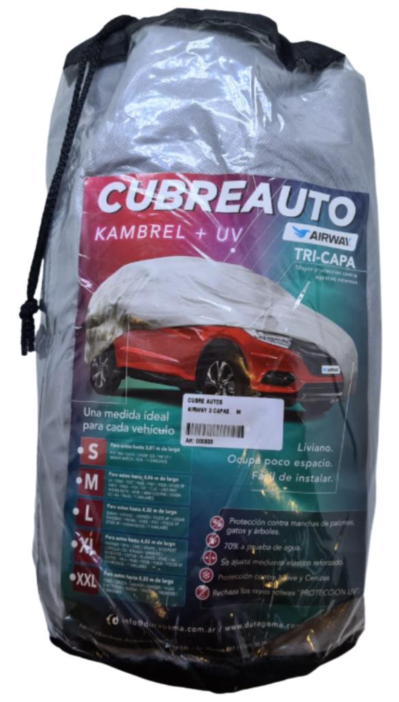 Cubre auto bicapa impermeable xxl 4x7 crv sw4 ranger amarok