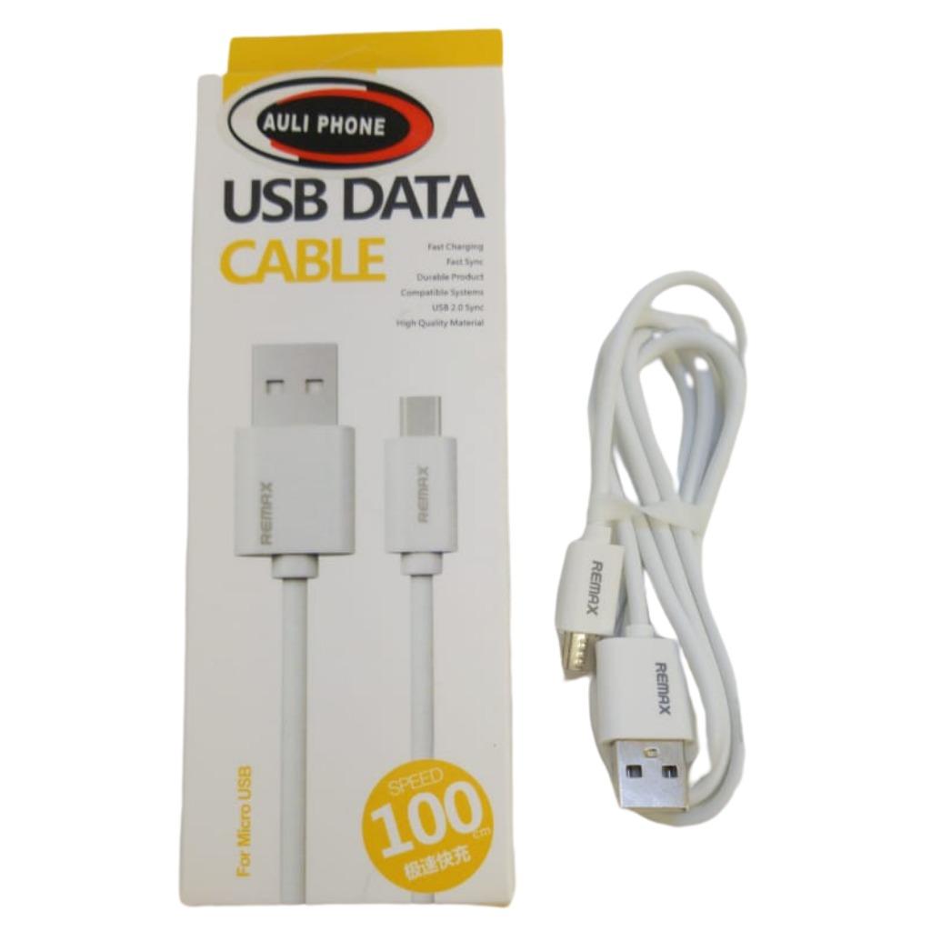 Cable cargador usb a micro usb remax en caja