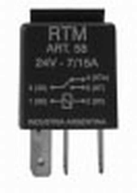 Microrelay 24v 5t rtm
