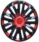 Taza rueda 13 negro-rojo 30145 x jgo