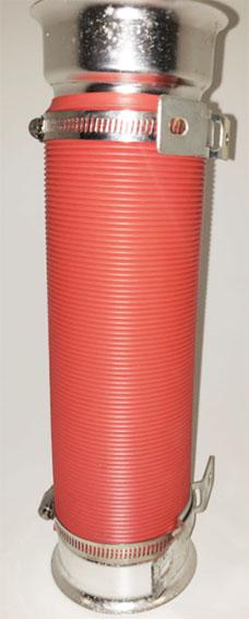 Filtro turbo multi flexible 75mm x 1 mts